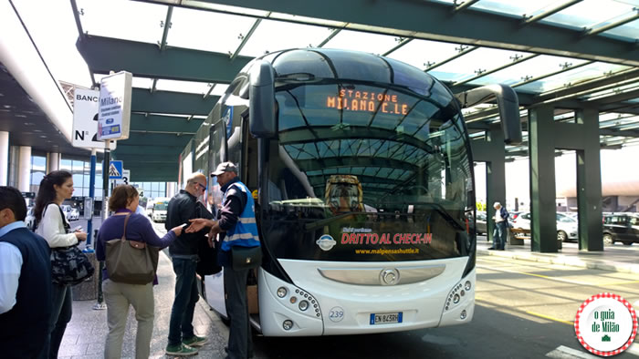 Ônibus Milão Malpensa