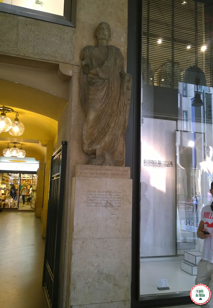 Omm de Preja na rua Vittorio Emanuele, 13