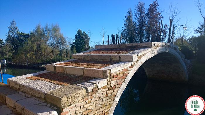 Ponte do diabo (del diavolo) em Torcello
