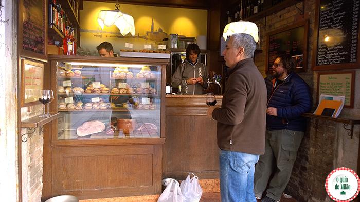 Comida de rua em Veneza Onde comer em Veneza