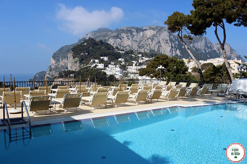 Hotéis romântico na Itália Hotel la Scalinatella em Capri Nápoles
