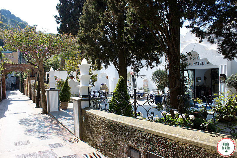 Hotel cinco estrelas em Capri La Scalinatella