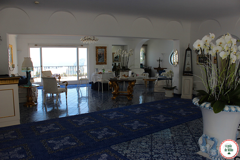 onde dormir em Capri La Scalinatella hotel 5 estrelas perto do Hotel Quisisana Capri