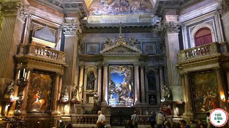 Pontos turísticos Nápoles Capela San Gennaro Duomo