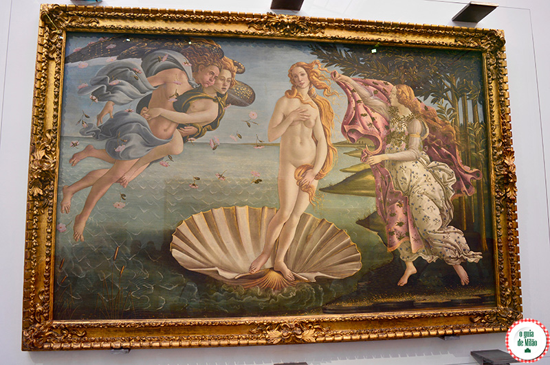 Museu Florença O que ver na Galeria Uffizi Botticelli A Primavera
