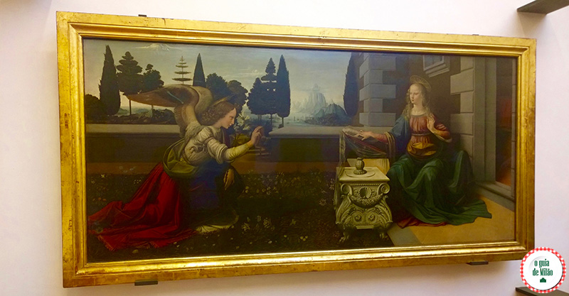 Museus Florença Galeria Uffizi Leonardo da Vinci