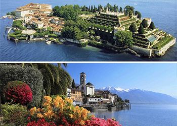Tour Excursão Bate volta Milão Lago Maggiore cruzeiro Ilhas Borromeo ilha Madre ilha dei Pescatori ilha Bella
