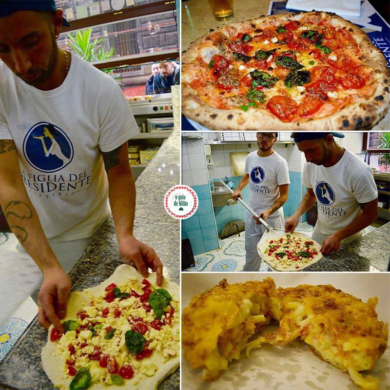 Pizzarias em Nápoles La figlia del presidente