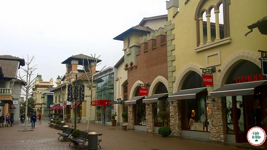 Onde fazer compras em Parma Fidenza Village