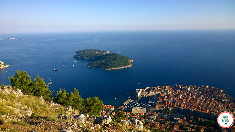 Game of Thrones Dubrovnik ilha de Lokrum Croácia