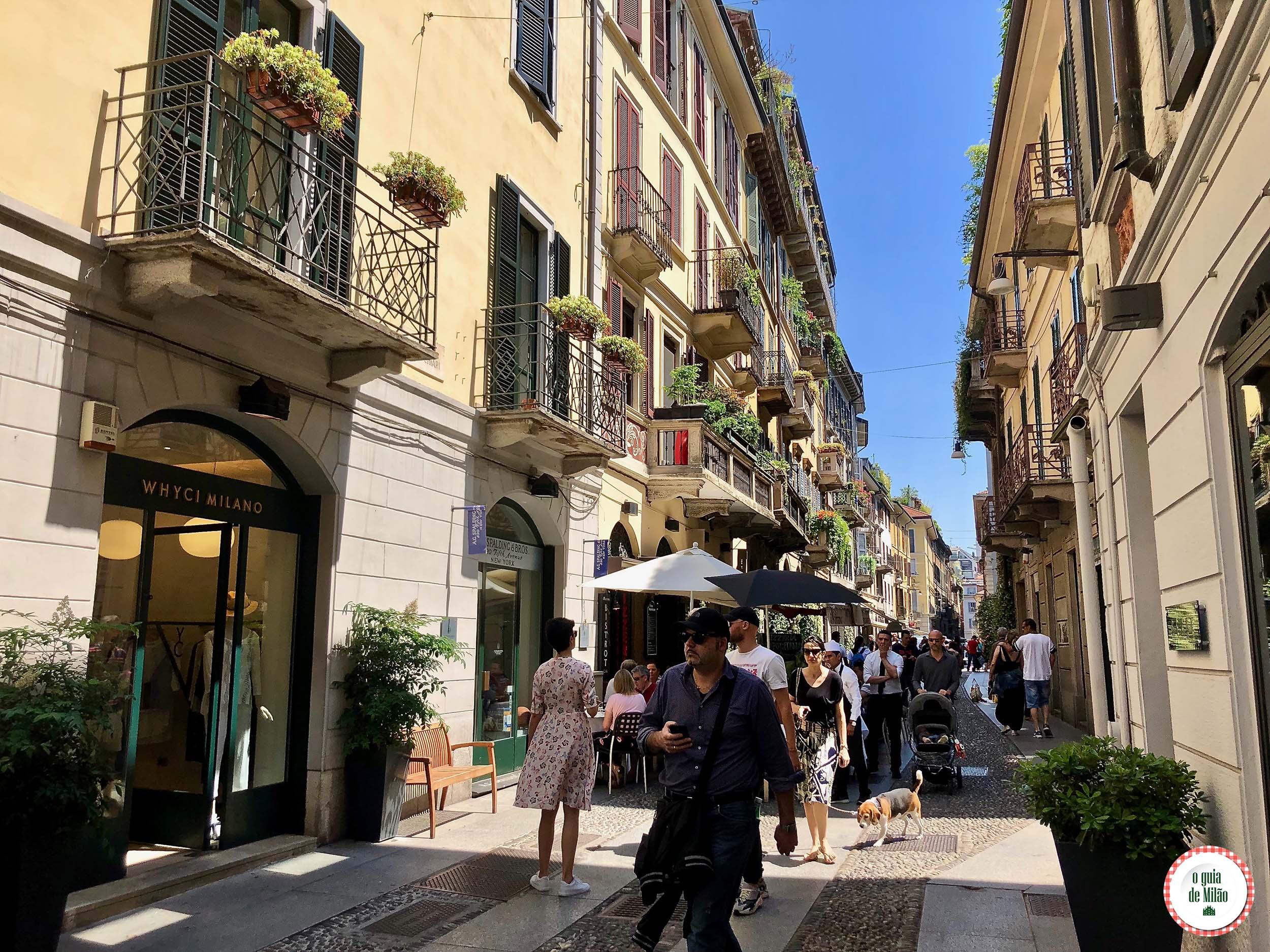 O que fazer no bairro Brera em Milão