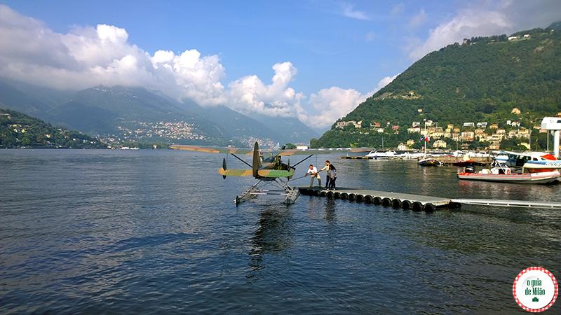 Como chegar no Lago de Como