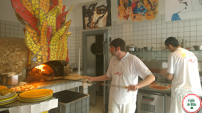 As melhores pizzarias de Milão perto do chinatown Ciripizza