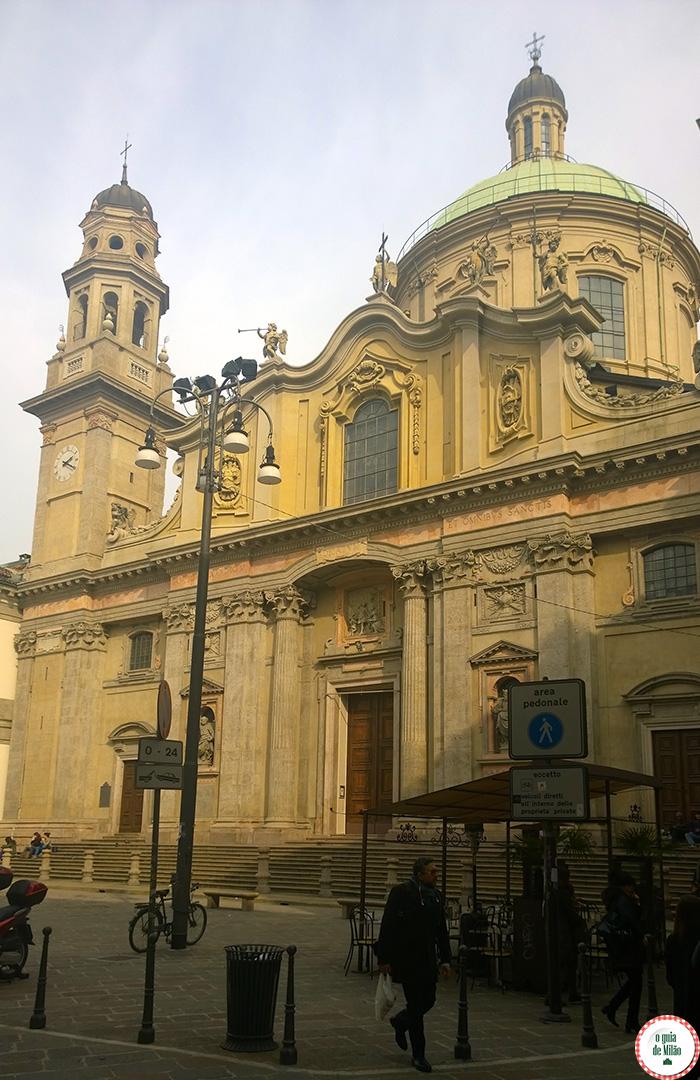 As principais igrejas de Milão a Igreja de Igreja de Sant'Alessandro