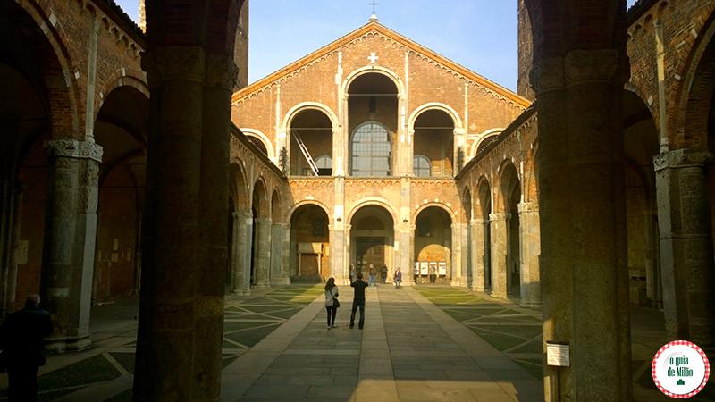 Igrejas de Milão - A Basilica di Sant'Ambrogio