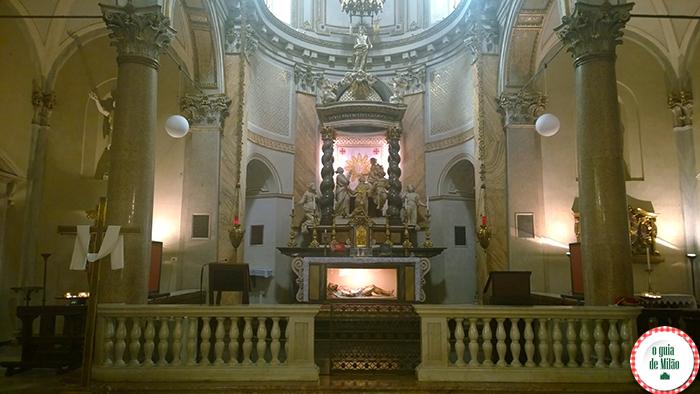 As principais igrejas de Milão a Igreja de San Sepolcro 4