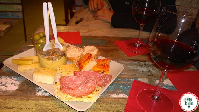 Dicas de onde fazer aperitivo em Milão Luca & Andrea bar comer barato em Milão