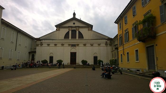 San Vittore al corpo Igrejas em Milão Turismo em Milão Pontos turísticos em Milão