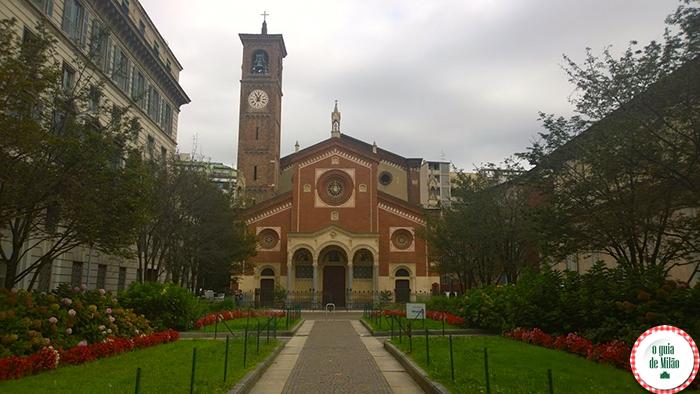 Igrejas na Itália As principais igrejas de Milão - A Basílica di Sant'Eufemia em Milão