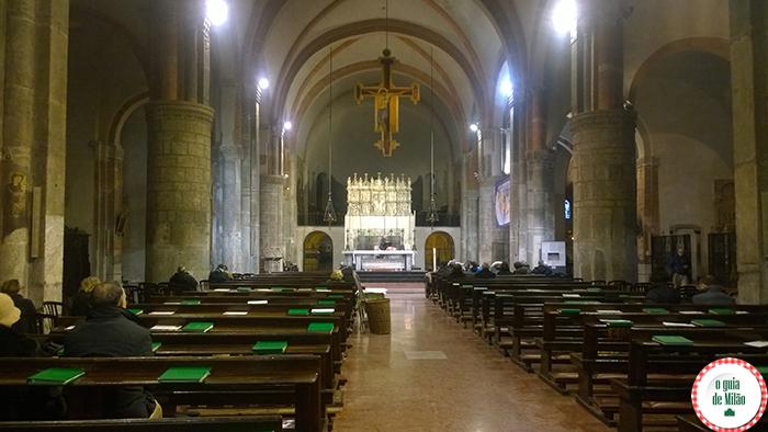 Igrejas na Itália As principais igrejas de Milão - A Basilica Sant'Eustorgio em Milão 2