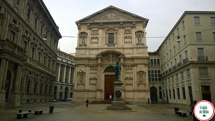 Igrejas na Itália As principais igrejas de Milão - A Igreja de Santa Maria della Scala in San Fedele em Milão