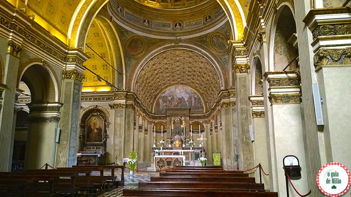 Igrejas na Itália As principais igrejas de Milão - A Igreja de Santa Maria presso San Satiro em Milão