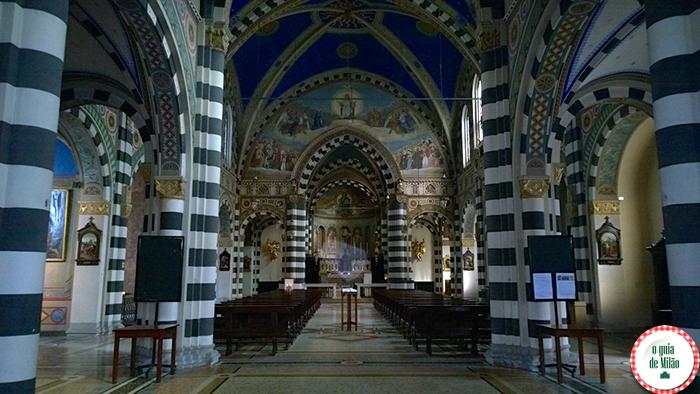 Igrejas na Itália As principais igrejas de Milão - A Basílica di Sant'Eufemia em Milão 2