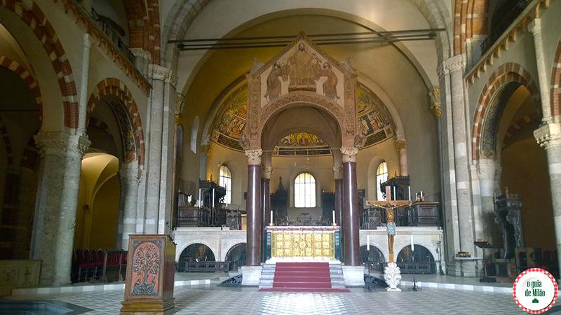 Igrejas de Milão A Basilica di Sant'Ambrogio