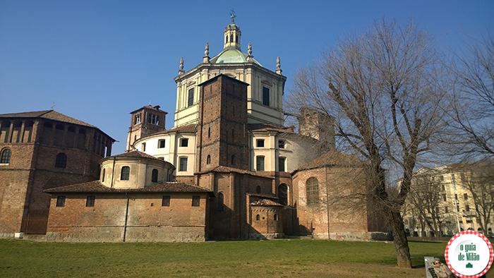 Igrejas na Itália As principais igrejas de Milão - A Igreja de San Lorenzo Maggiore em Milão 2