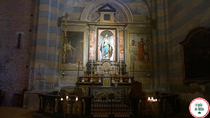 Igrejas na Itália As principais igrejas de Milão - A Igreja de San Simpliciano em Milão 2
