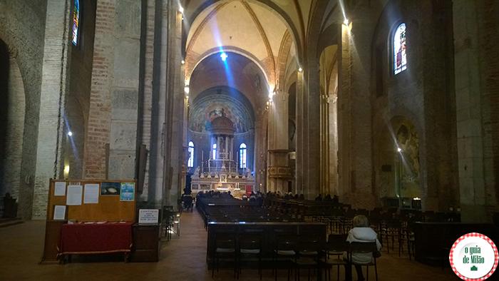 Igrejas na Itália As principais igrejas de Milão - A Igreja de San Simpliciano em Milão 3