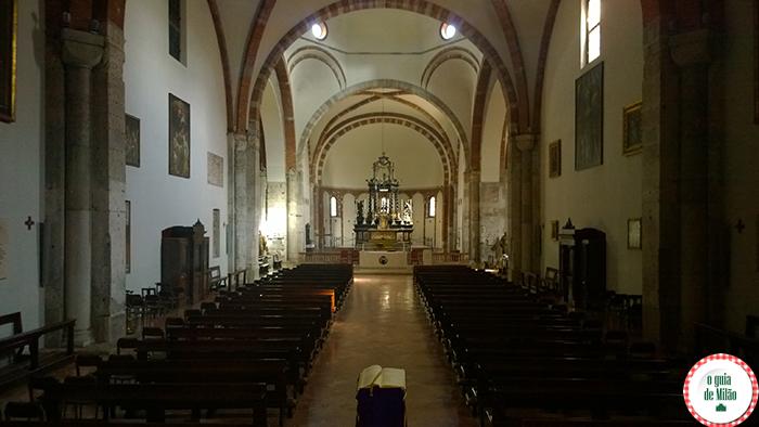 A igreja de San Nazaro Maggiore em Milão