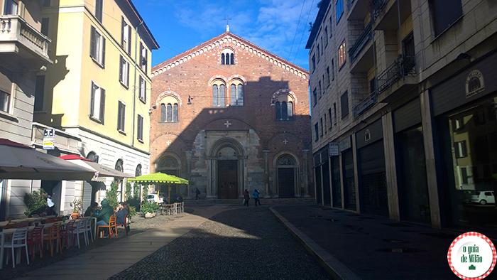 Igrejas na italia As principais igrejas de Milão - A Igreja de San Simpliciano em Milão