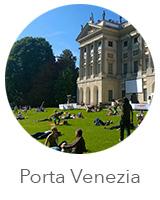 Bairro Porta Venezia em Milão