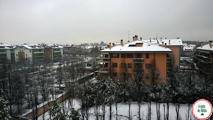 O clima de Milão A temperatura média no inverno de Milão turismo em Milão