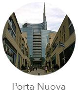 O bairro Porta Nuova de Milão