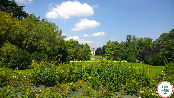 O que fazer em Milão em 2 dias O Parque Sempione perto do Castelo Sforzesco de Milão