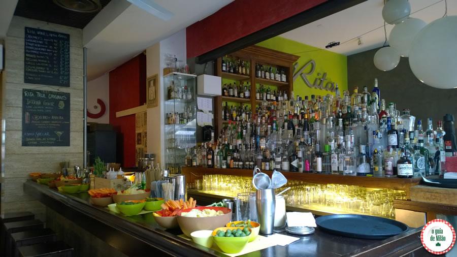 Onde fazer aperitivo em Milão Rita