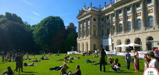 Pontos de interesse em Milão Giardino della Villa Belgiojoso Bonaparte