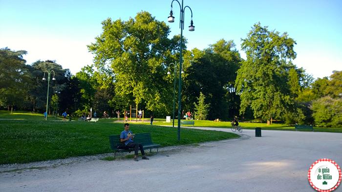 Pontos de interesse em Milão O Parque Sempione