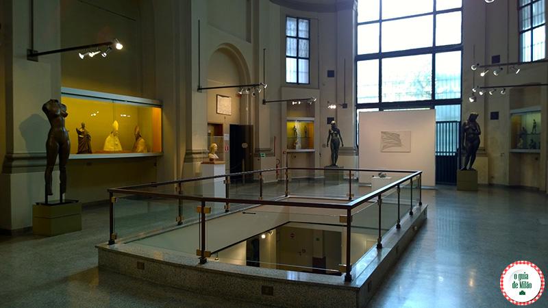 Pontos turísticos em Milão Museus de arte em Milão
