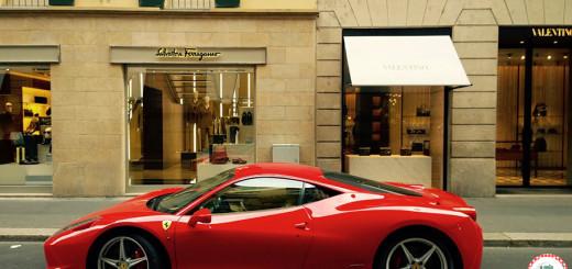 Ferragamo Ferrari Valentino Lojas Milão Italian Style