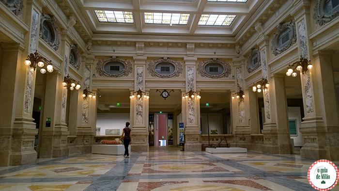 Museu Gallerie d'Italia em Milão