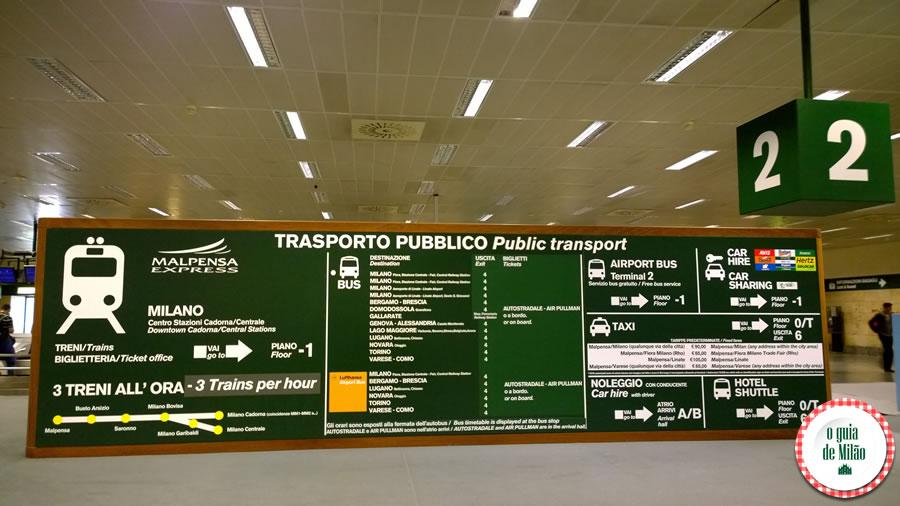 Aeroporto Milão Malpensa