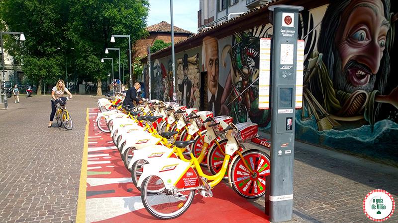 bicicletas para alugar em Milão bikeMI como funciona dicas e tarifas para alugar bicicletas em Milão