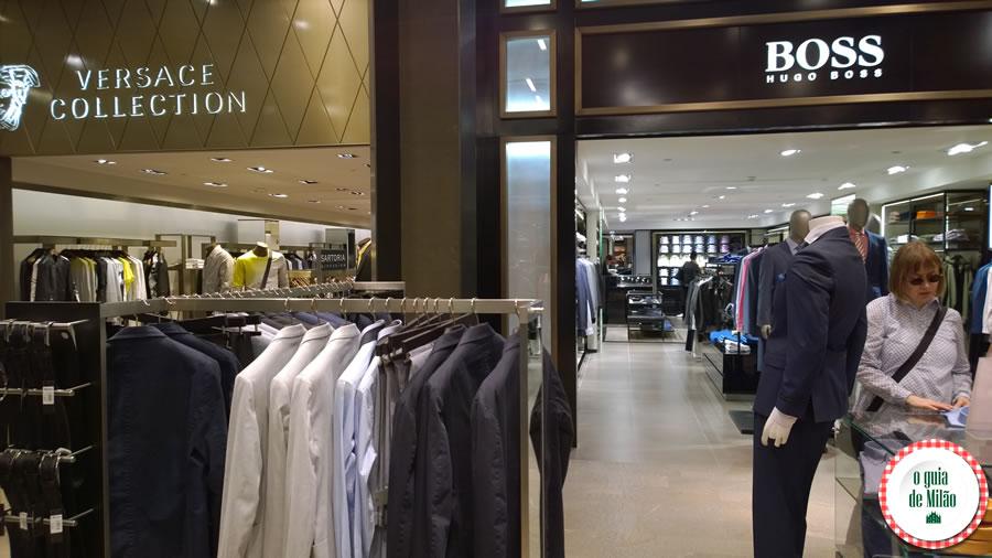 fazer compra em Milão Rinascente