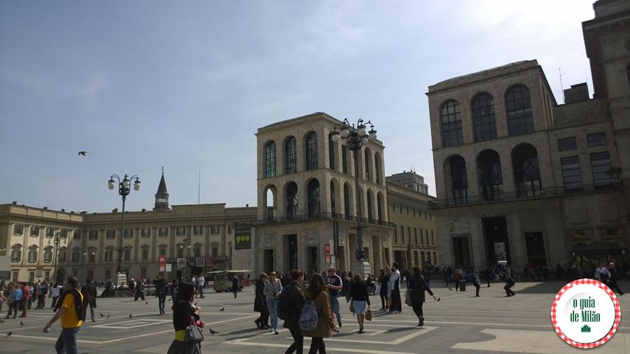 Palácios Arengario e Real