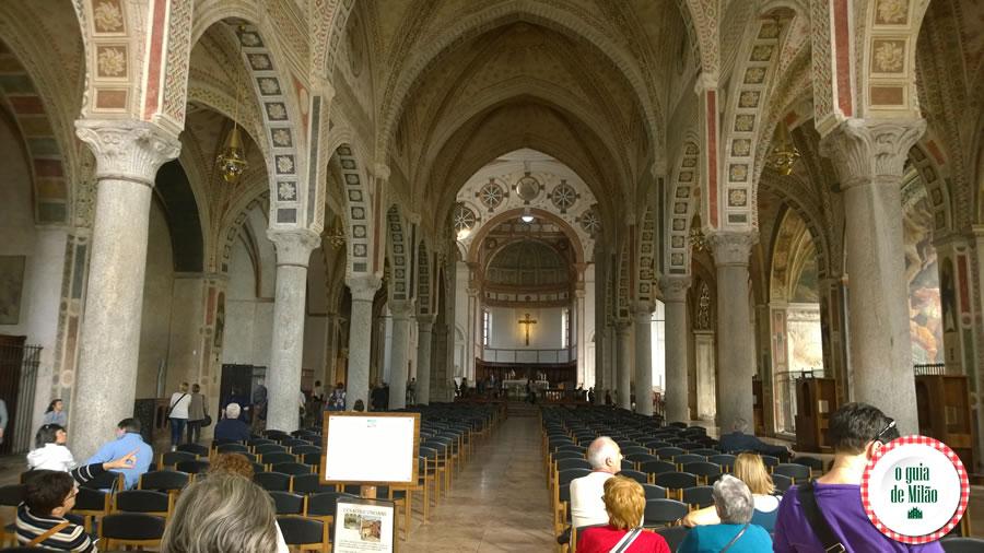 Santa Maria delle Grazie Igrejas em Milão A última ceia de Leonardo da Vinci