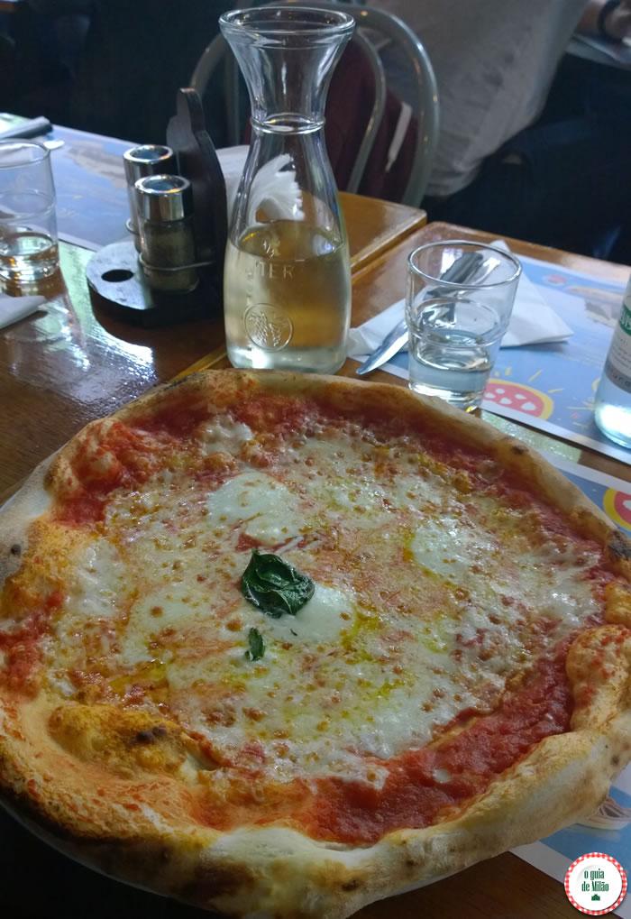 a pizza da piccola ischia