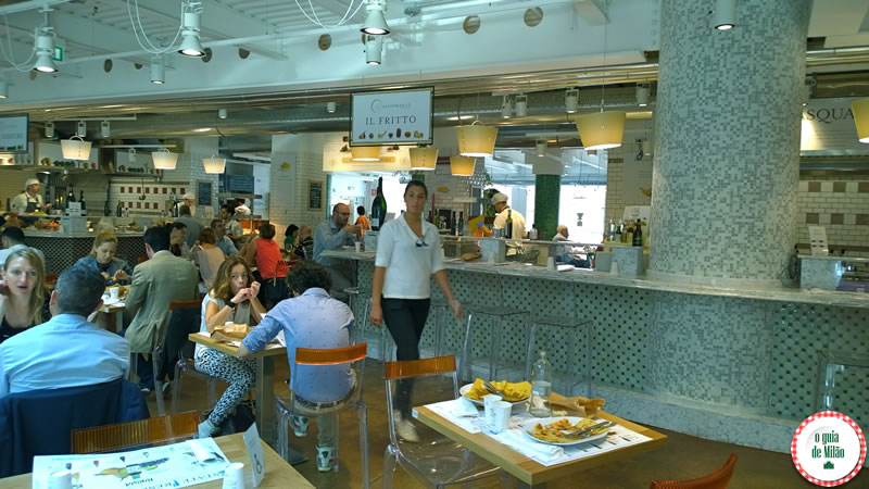 Restaurante Il Fritto - Eataly